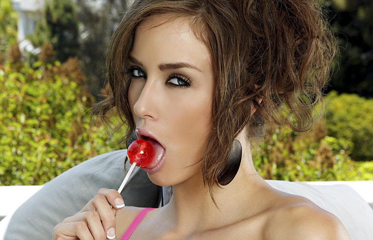 Malena Morgan Sucking Something Sweet Ixxx 1